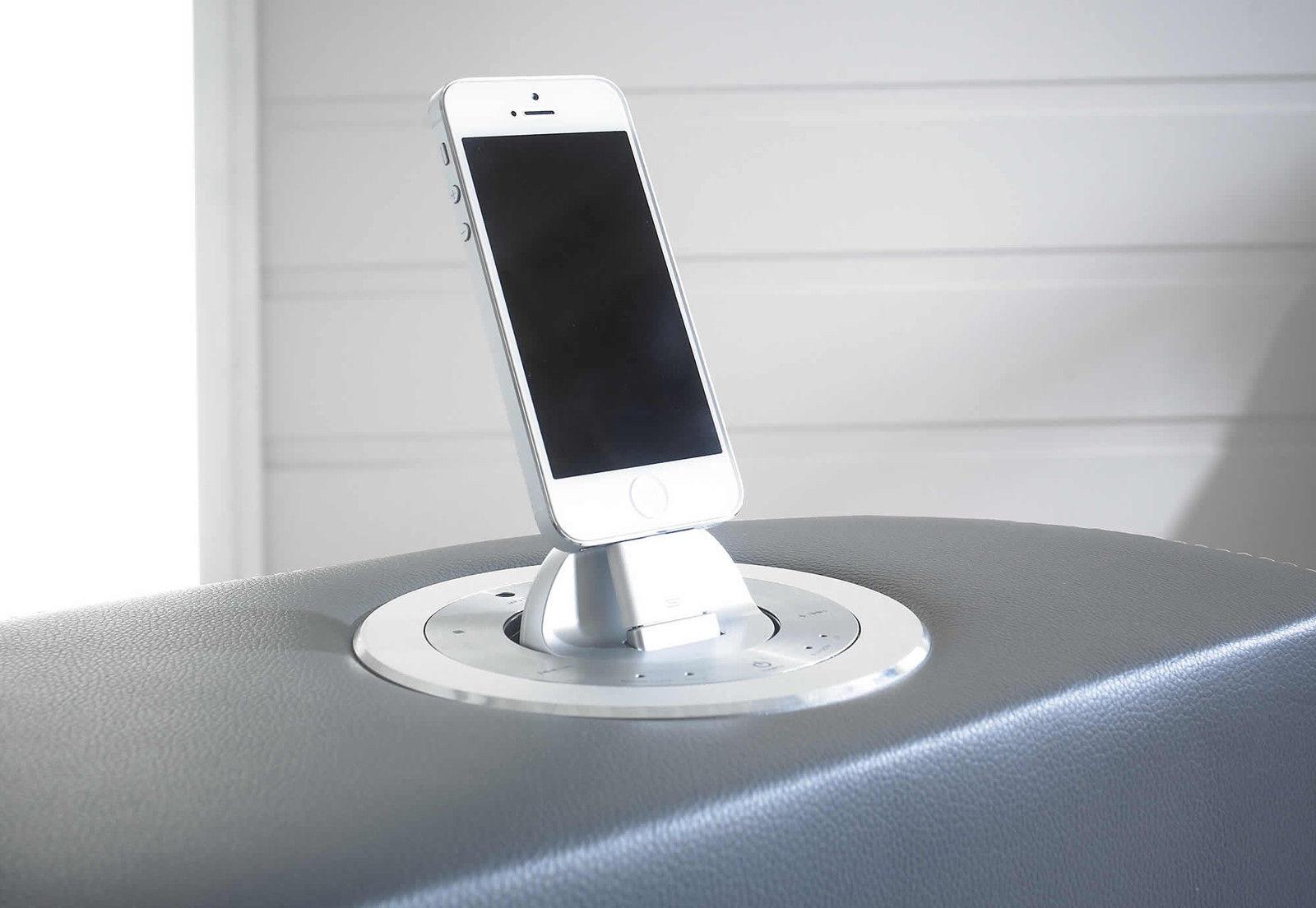 Elephant Tv Bed Grey I Pod Dock Bluetooth Speakers 5ft