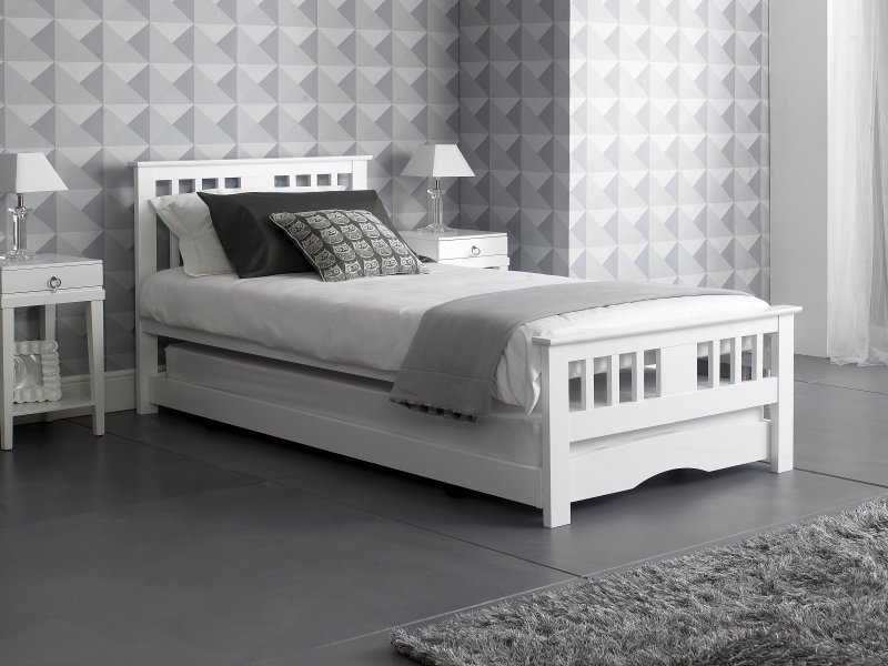 Pull Out Guestday Bed White