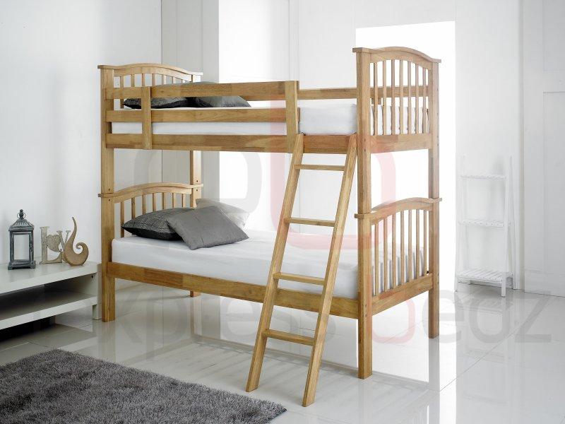 Oak Childrens Bunk Bed